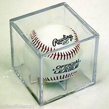 36 New Baseball Ball Square Display Cube Display Cases