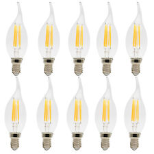 10er-Pack 4W C35 E14 LED Lamp Kerzenlampe,Ersatz 30W Glühlampe, Warmweiß