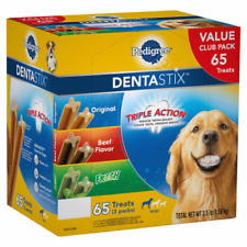 New listing Pedigree DentaStix Variety Dog Treats, 65-count