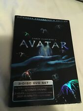 Avatar (DVD, 2010, 3-Disc Set, Extended Collectors Edition)
