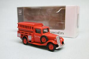 Norev - CITROEN U11 Pompiers 1935 Service d'incendie Neuf HO 1/87