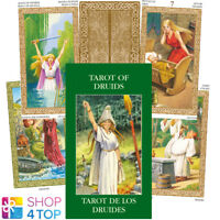 MINI TAROT OF DRUIDS CARDS ESOTERIC FORTUNE TELLING LO SCARABEO NEW