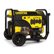 100538R - 7500/9375w Champion Generator, Electric Start, W/ 50AMP- Refurbished