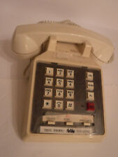 Techncom International PUSH BUTTON DESK TOP PHONE, OFF WHITE, Preowned