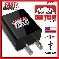 USB Wall Home Charger Plug Power AC Block Fast Charge Samsung iPhone Android LG