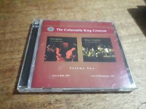 KING CRIMSON - THE COLLECTABLE KING CRIMSON - VOLUME TWO 2cd