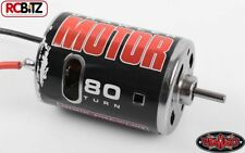 540 Crawler Brushed Motor par RC4WD 80 T Z-E0001 Bullet Connectors TF2 G2 SCX10 RC