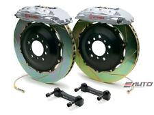 Brembo Front GT Big Brake 4Pot Silver 332x32 Slot Rotor for WRX STi Legacy 2.5i