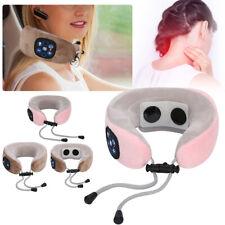 USB Electric Neck Massager U Shaped Pillow Shoulder Cervical Vertebra Massager