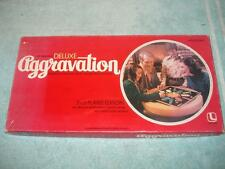 VINTAGE 1982 AGGRAVATION DELUXE MARBLE BOARD GAME
