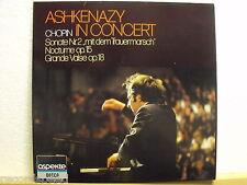 ASHKENAZY IN CONCERT * Chopin * Sonate Nr. 2 * Nocturne op. 15 * Grande Valse 18