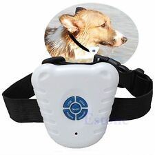 Dog Pet Stop Barking Anti Bark Training Trainer Safe Ultrasonic Control Collar