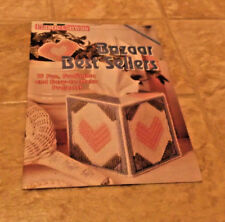 Quick & Easy Plastic Canvas Bazaar Best Sellers 1992 Pattern Booklet 15 Projects