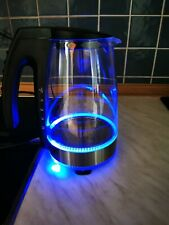Wasserkocher Led Teekocher Beleuchtet Unold Glas Silber