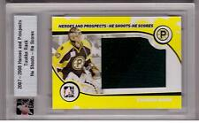 TUUKKA RASK ITG 07/08 Ultimate Jersey HSHS Shoots Scores #5/20 SP RARE Rookie RC