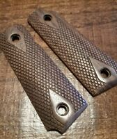 1911 22 Grips - Walnut with Classic Checkering, Will fit Browning 1911-22 or 380