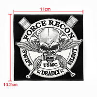Force Recon USMC United States Marine Corps 3D Ecusson Brodé Hook Loop Patch