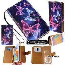 Flip Folio Wallet Leather Stand Magnetic Case Cover For Various Nokia Asha Phone