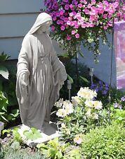 Virgin Mary Statue Outdoor Garden Decor Lightweight Religious Sculpture Patio