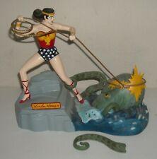 ORIGINAL 1966 AURORA DC Comics WONDER WOMAN COMPLETE BUILT UP MODEL KIT PAINTED