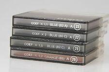 Cokin Set: Farbfilter je 1x; blue 82A , 80C, 82C; orange 85  A-System