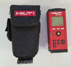 HILTI PD 20 laser distance measurement with carry case