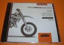 Werkstatthandbuch Reparaturanleitung  CD original KTM  65 SX / 65 XC 2009-2019