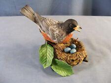 Lenox 1989 American Robin Fine Porcelain Bird Figurine