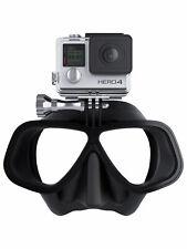 Octomask Freediver: Scuba & Snorkeling Mask with GoPro Mount