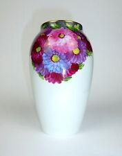 Große Rosenthal Vase um 1920 Blumenmalerei Kunstabteilung Selb B-96