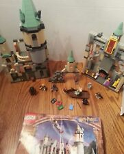 LEGO Harry Potter Hogwarts Castle 2001 4709 95% Complete with manual minifigs
