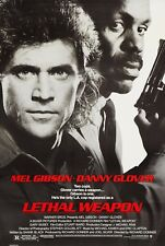 LETHAL WEAPON (1987) ORIGINAL MOVIE POSTER  -  ROLLED