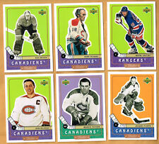 1999-00 Upperdeck Retro set 1-110 gretzky