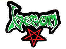 VENOM Pentagram Embroidered Sew On Iron On Heavy Metal Jacket Patch 3.5""