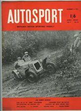 Autosport 11th 1953 de diciembre * Monte Carlo Rally Vista previa