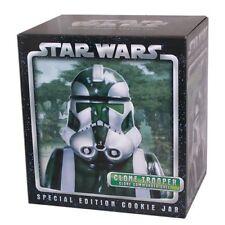 Star Wars Clone Commander Gree Cookie Jar por tarjeta Inc Muy Raro