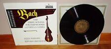 DECCA Gold Label-BACH-3 Sonatas for Harpsichord & Viola da Gamba-Marlowe-NM-/NM!