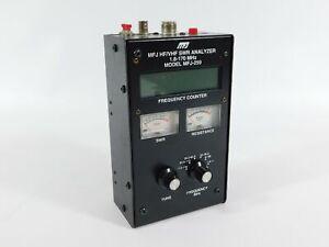 MFJ-259 Ham Radio HF VHF SWR Antenna Analyzer 1.8-170MHz (works great)