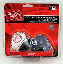 Boston Red Sox Rawlings Micro Baseball Replica Helmet   NEW