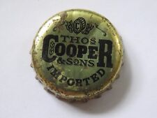 BEER Bottle Cap: Thomas COOPER & Sons Brewery & Homebrewing Supplier ~ AUSTRALIA