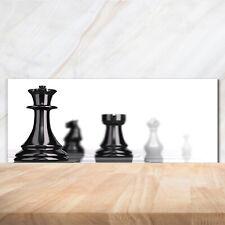 Küchenrückwand Spritzschutz aus Glas 125x50 Deko Sonstige Schachfigur