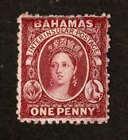 Bahamas stamp #11.  MH OG, SCV 160.00