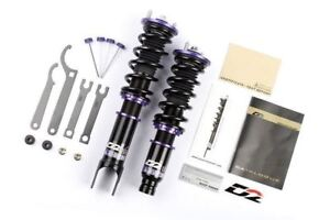D2 Racing For 93-96 Mitsubishi Mirage RS Series 36-Step Adjustable Coilover Kit