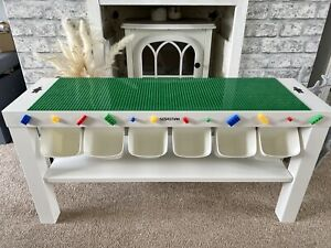 Childrens Baseplates Construction Play Table Brick Fully Compatible with Lego