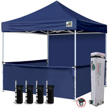 10x10 Pop up Canopy Tent Instant Party Tent Trade Show Gazebo w/ Side Walls