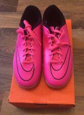 Nike Hyper Pink Jr Mercurial Vortex II IC Size 5 BNIB