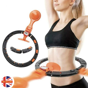 Weight Loss Smart HULA HOOP Auto Counting Detachable Hoops Fitness Abs Excercise