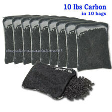 11 lbs Activated Carbon in 10 Media Bags for Aquarium Fish Pond Canister Filter