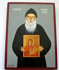Mönch Porfyrios v. Berg Athos St. Ikone Icon Ikona Icone Icono Saint Porphyrios