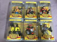 6x Rescue Heroes Actionfigur: u.a. AL Pine, Feuerwehrmann B. Blazes, Sam Sparks